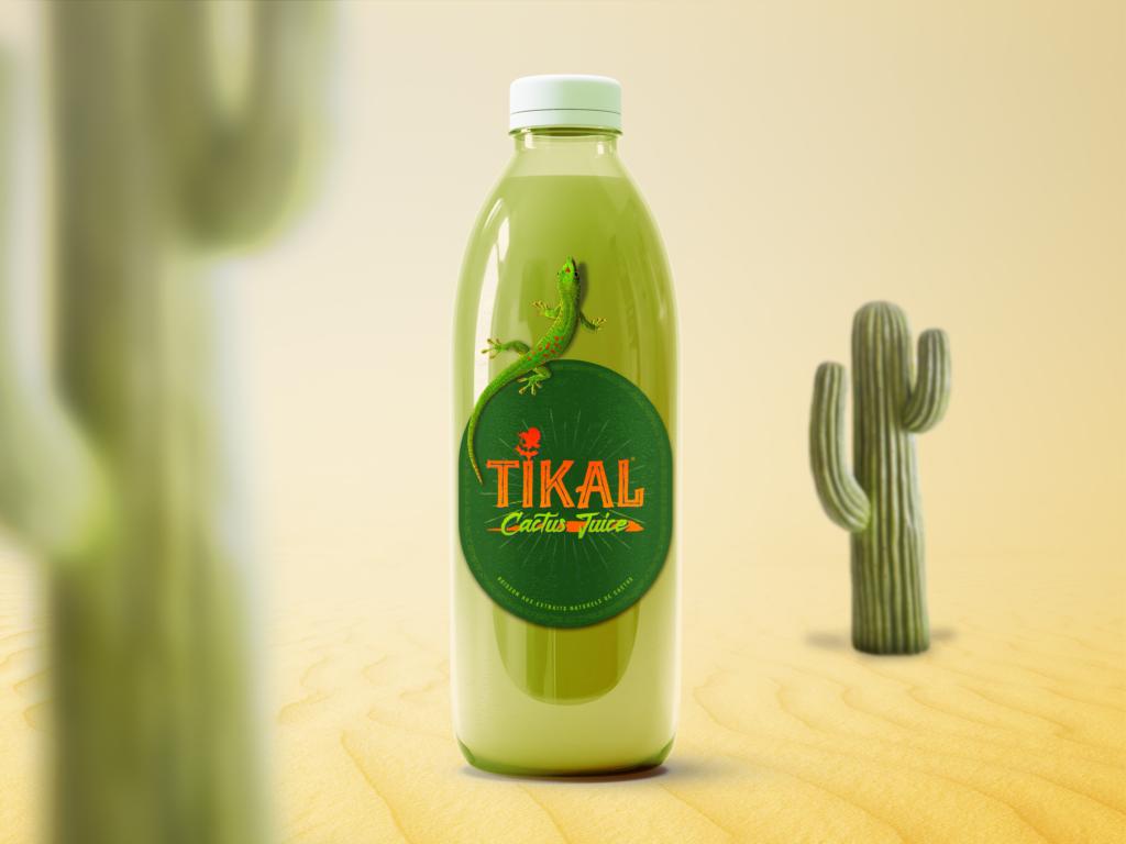 Étiquettes jus de cactus